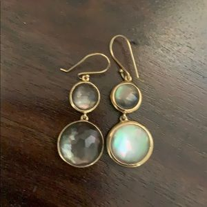 Ippolito earrings. Gold